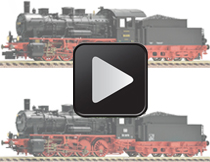 Fleischmann BR 55.25-56 DRG DB Video